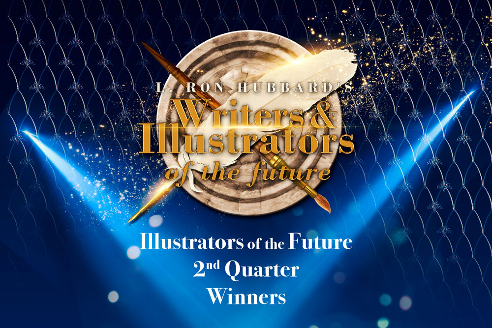 Illustrators of the Future 2nd Quarter Winners