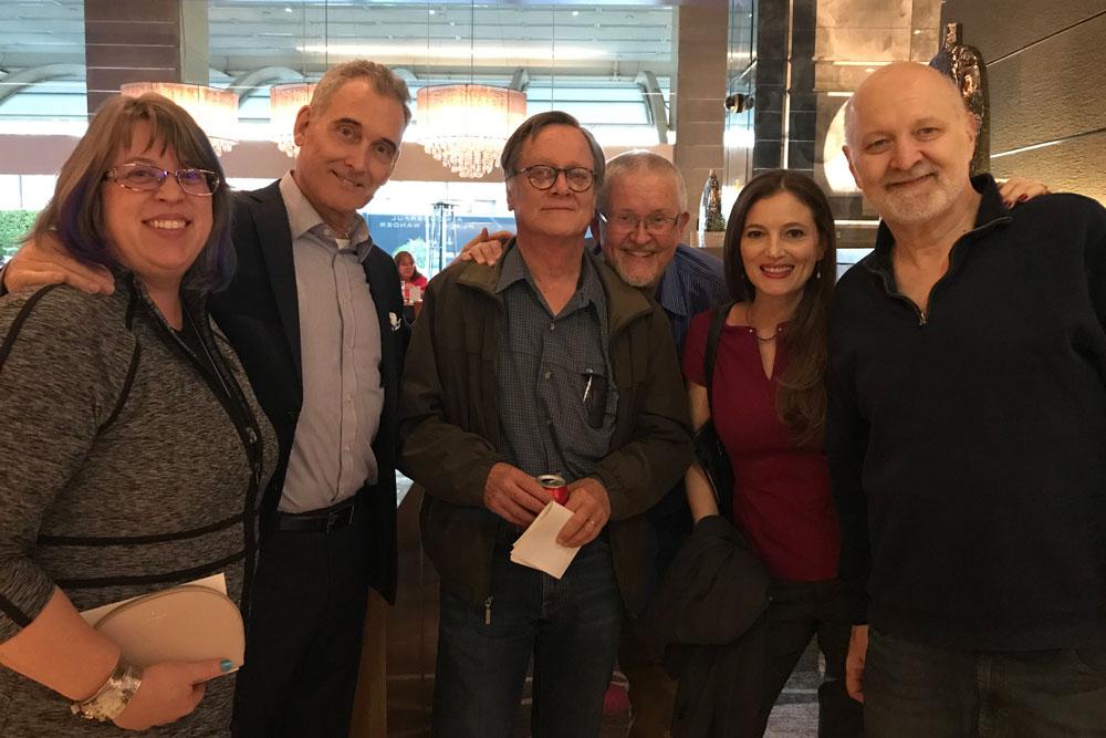 Kary English, John Goodwin, Tim Powers, Orson Scott Card, Emily Goodwin and David Farland