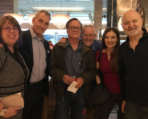 Kary English, John Goodwin, Tim Powers, Orson Scott Card, Emily Goodwin and David Farland