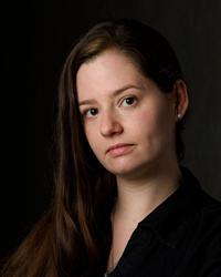 Writer winner Carrie Callahan