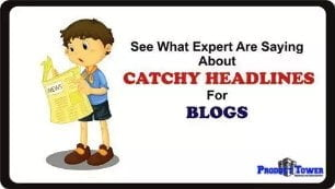 catchy headlines for blogs