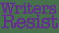 Writers Resist Logo