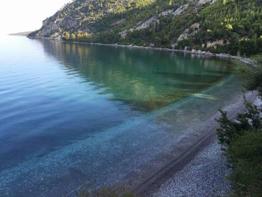 Dafni Beach Evia Greece