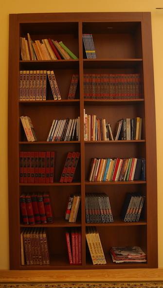 La Casa Grande Bedroom Library