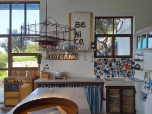 Cretan Olive Farm Stay & Retreat Kitchen