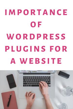 WordPress Plugins are Important