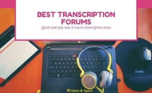 Best Transcription Forums You Should Join