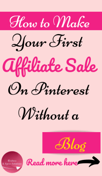 For How to make money on Pinterest Without a blog