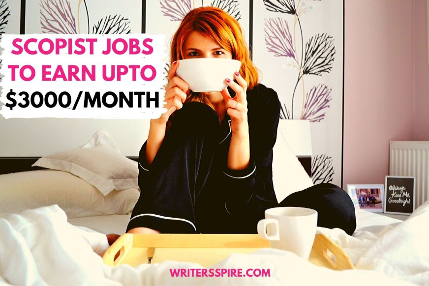 For Scopist Jobs to Earn extra bucks a month