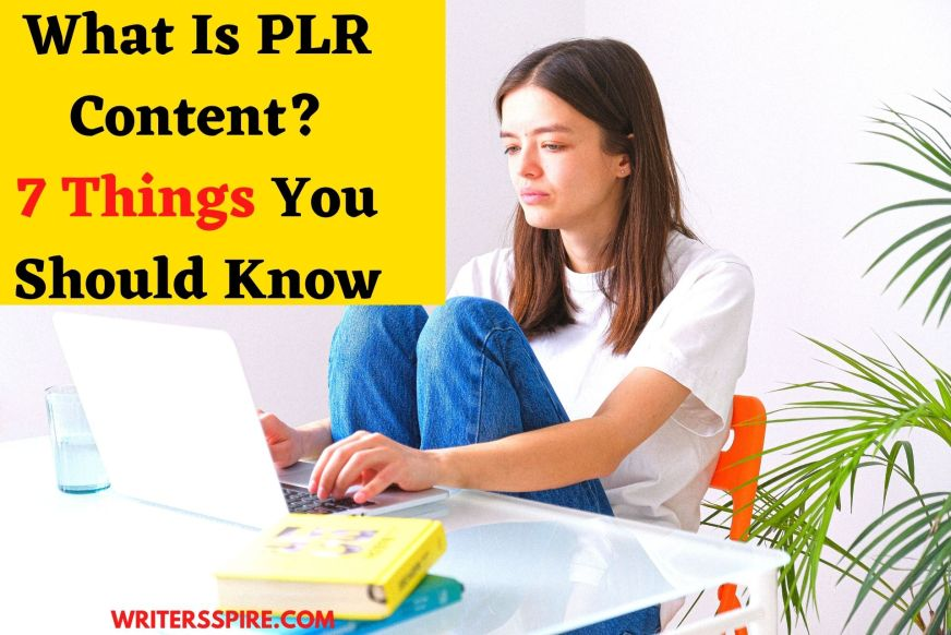 For what is Plr content