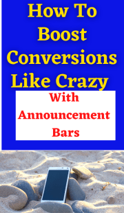 For How To Boost Conversions With Announcement Bars