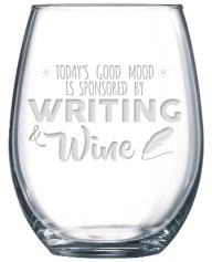 writer's wine glass