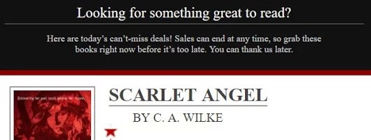 Updates: Surprise Scarlet Promo, Scarlet's Return & Blogging is hard.