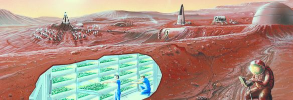 Poo-igloos and Dropping a Few Bricks on Mars