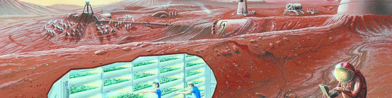 Poo-igloos and Dropping a Few Bricks on Mars