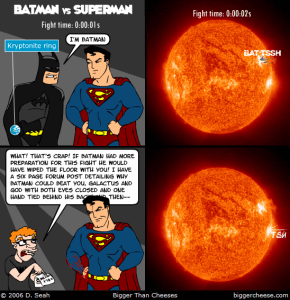Superman Vs. Batman, how it should have ended