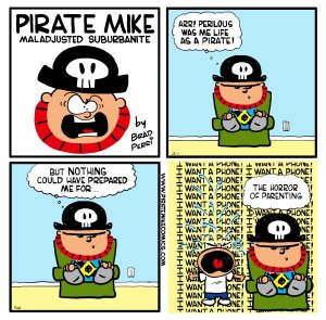Pirate Mike's The Perils of Parenting