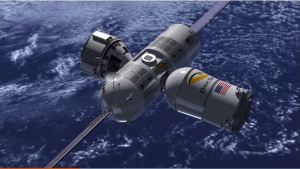 Aurora Station with 1 Expansion Module, Space Tourism's First Hotel