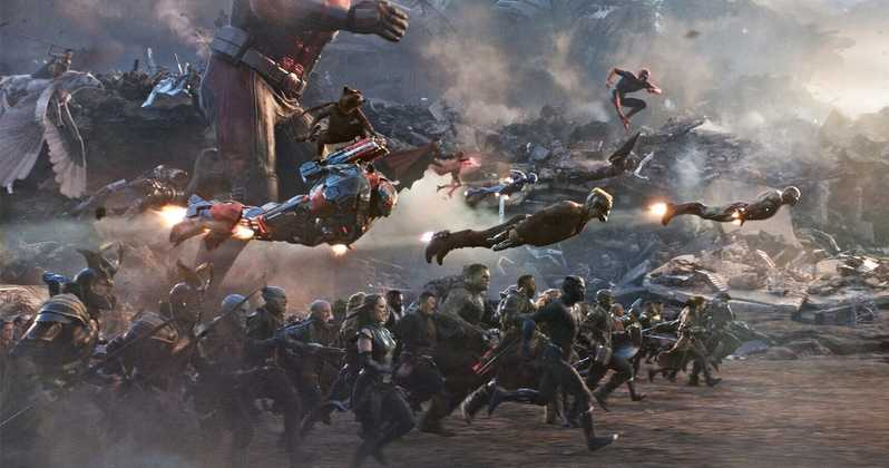 Avengers: Endgame Final Battle