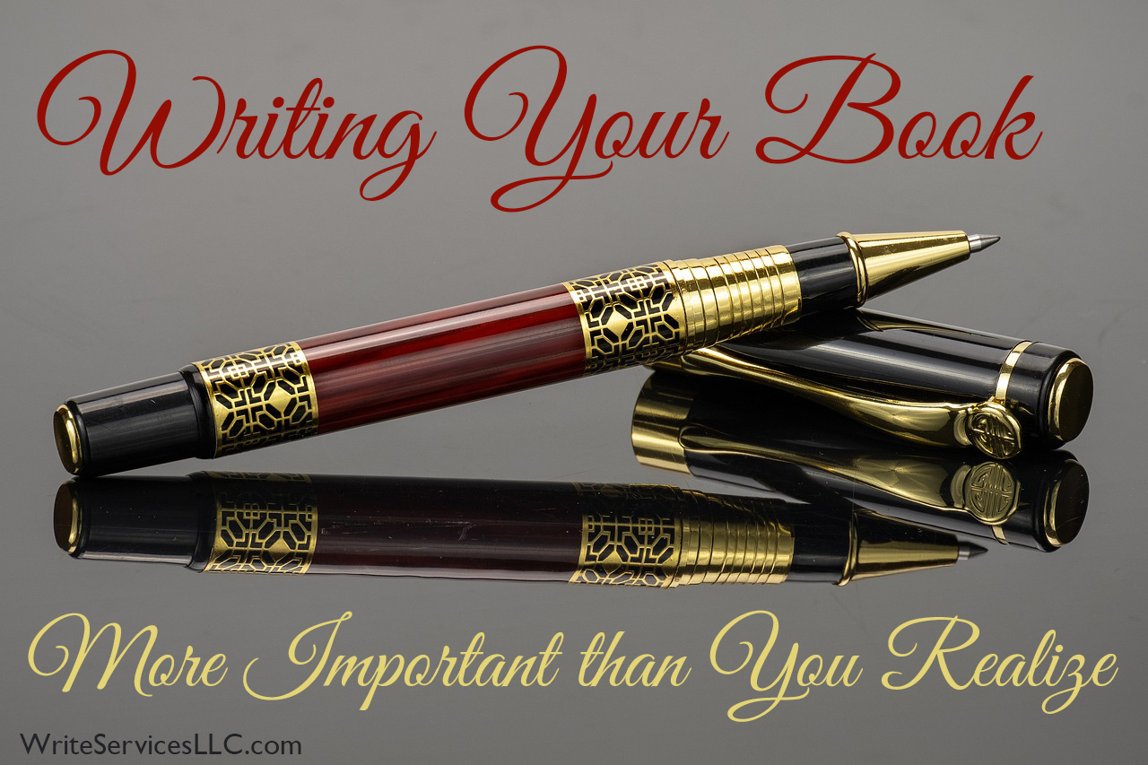 Read more about the article Why Writing Your Book Matters more than you think