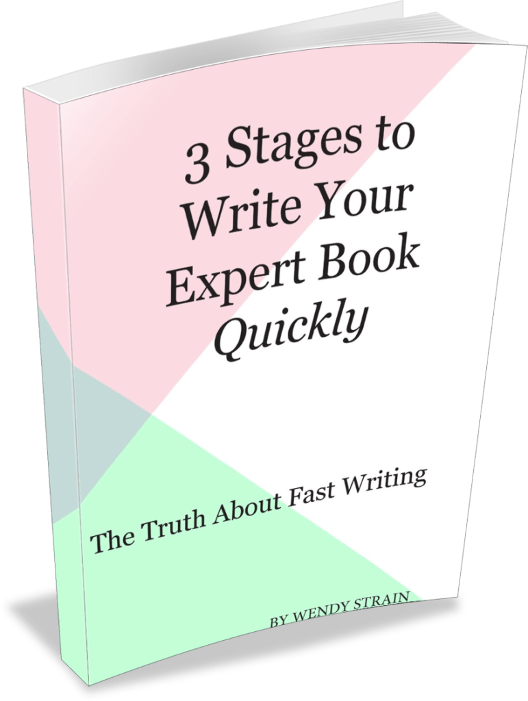 3 stages to write and publish your expert book