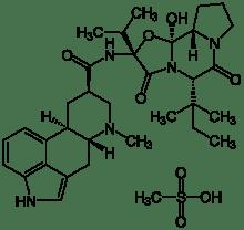 ergoloid mesylate hydergine