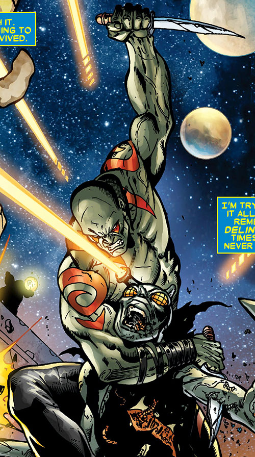 Drax The Destroyer Marvel Comics Guardians Of The