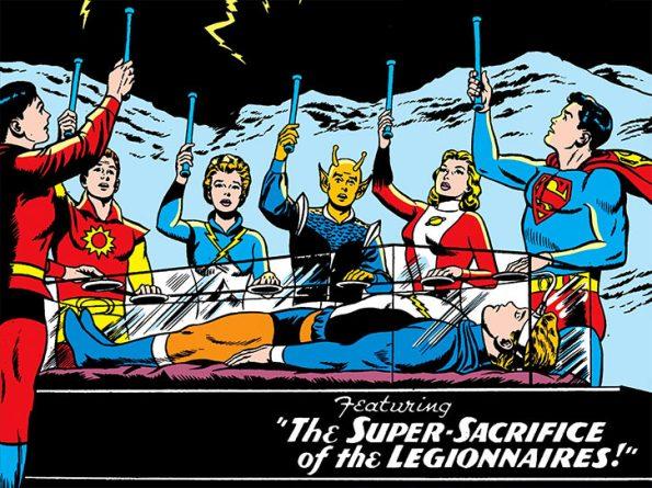 Image result for death in lightning lad Legion of superheroes