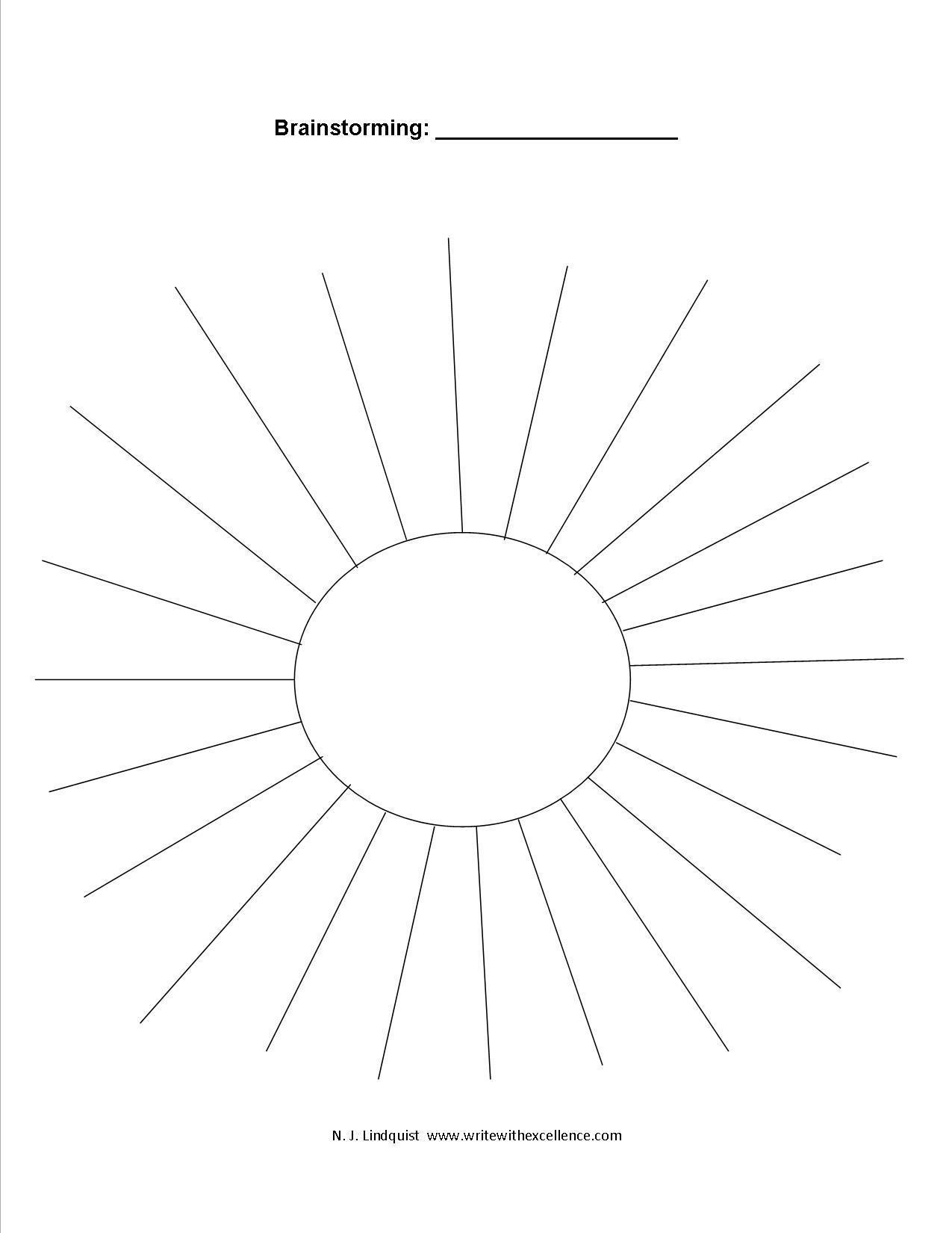 3 Circle Cycle Diagram Template