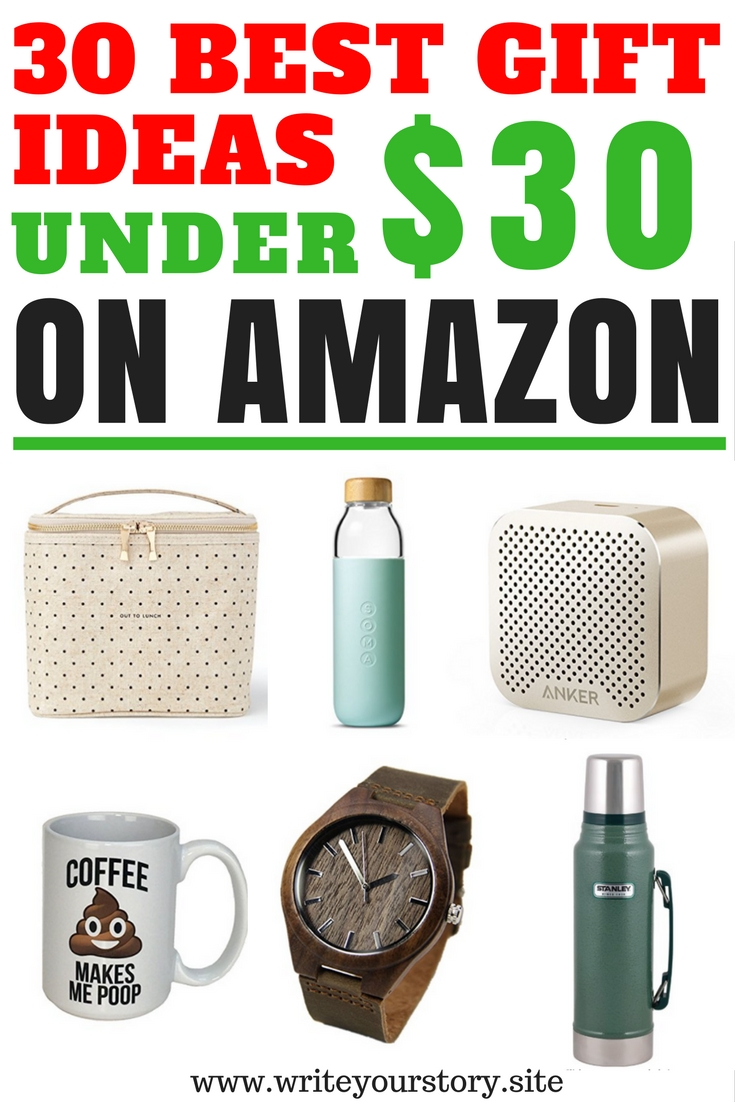 Good gift ideas for christmas under $30