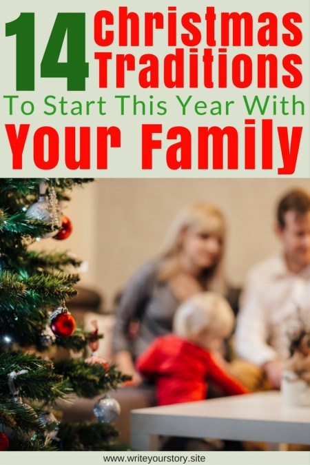 14 family Christmas traditions