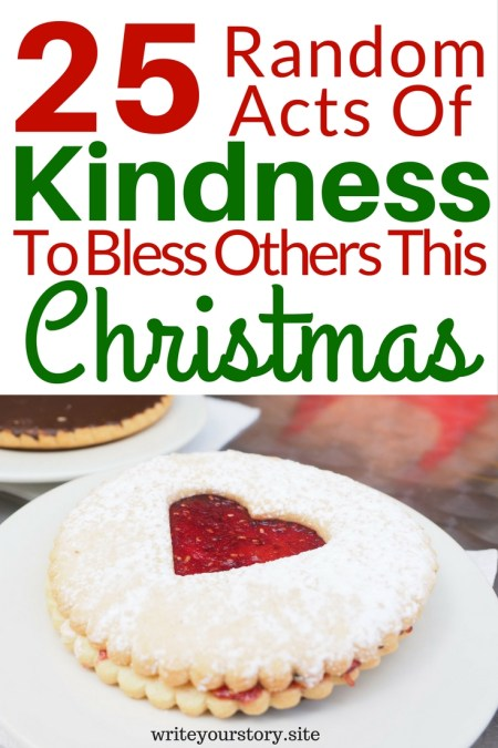 25 Random Acts of Kindness To Bless Others This Christmas