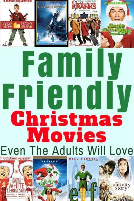 family friendly christmas movies