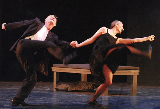Mats Ek and Ana Laguna in Memory (photo: Stephanie Berger)