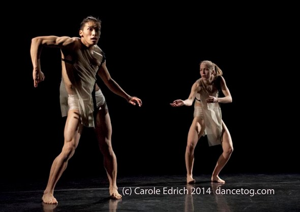 Kenny Wing Tao Ho and Maren Fidje Bjørneseth in Vuong 10 (photo ©Carole Edrich - ceimages.co.uk)