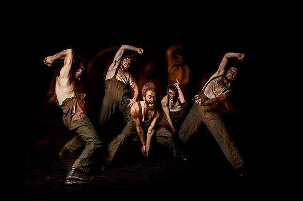 Gary Clarke Company in COAL (photo: Joe Armitage)