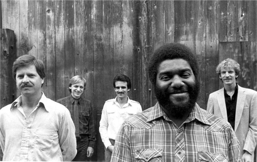 The Cornelius Bumpus band: Michael McKevitt, Paul Nagel, Bobby Rosenstein, Cornelius, , Marc Van Wageningen .