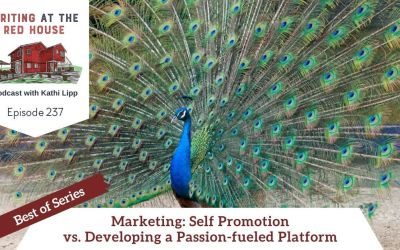 237 Best of Series: Marketing Self Promotion vs. Developing a Passion-fueled Platform