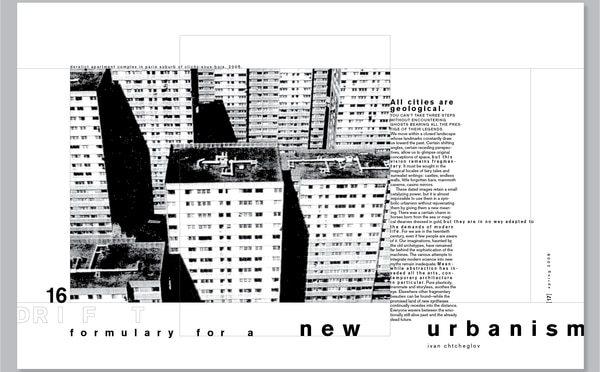 Chtcheglov's Formulary for a New Urbanism