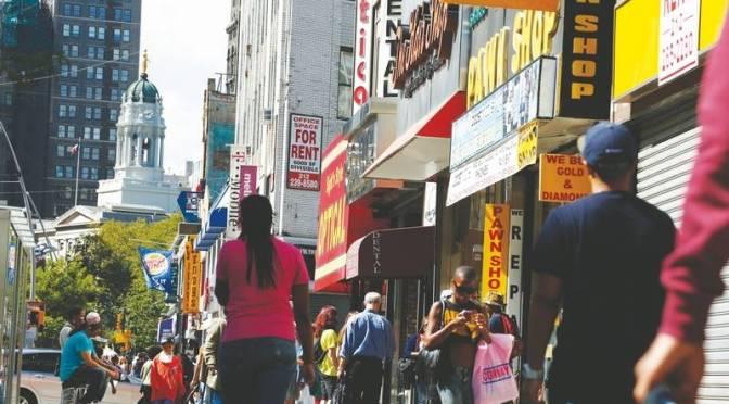 Street Value — Fulton Street Mall, Brooklyn