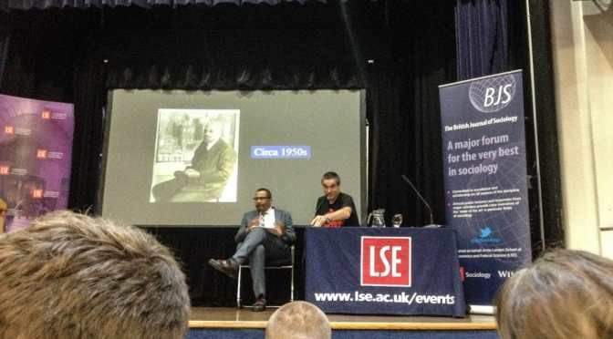 Aldon Morris bringing W.E.B. Du Bois to life at the LSE