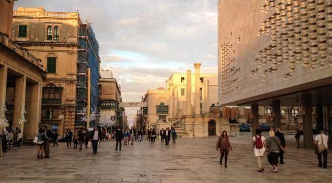 Arriving in Malta