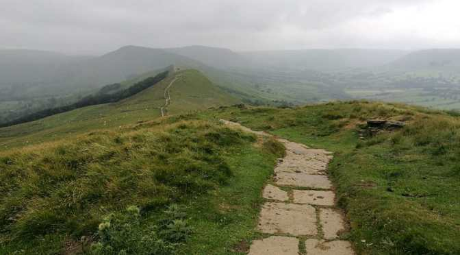 From Hope to Roman Navio to Mam Tor, Black Tor, Lose Hill