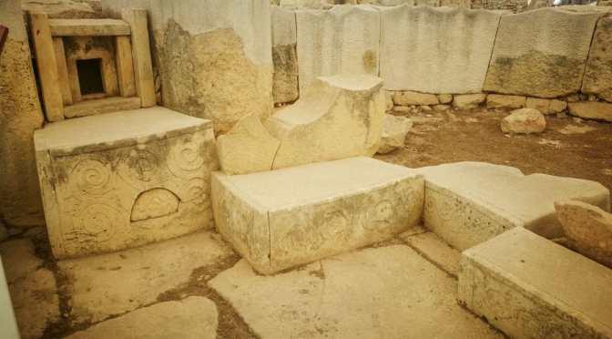 The Ħal Saflieni Hypogeum and the Tarxien Temples, Malta