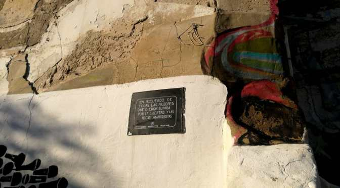 Zaragoza Graffiti: For the Women Who Gave Their Lives…