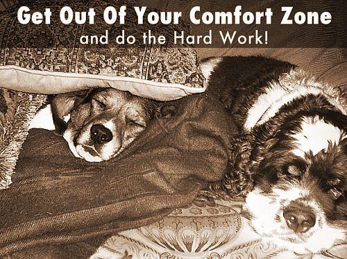Do the hard work!