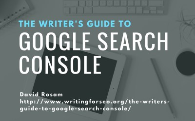 Read The Writer's Guide to Google Search Console