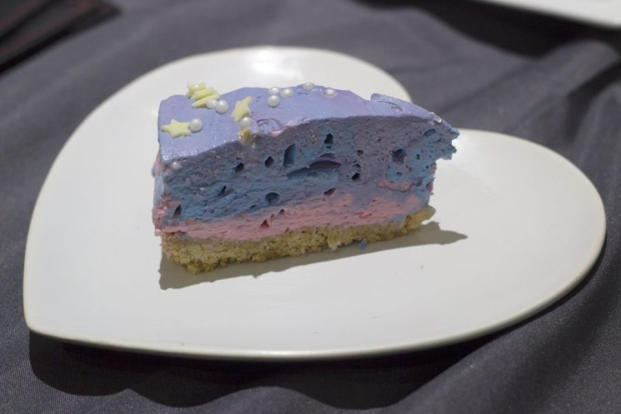 Space Cheesecake Piece