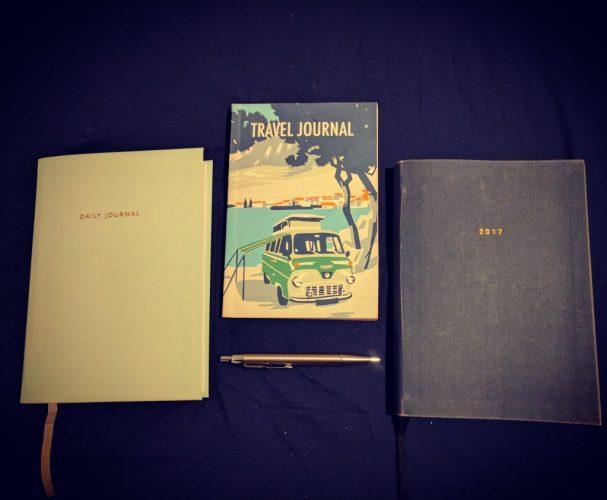 Notebook journals new tech vs old spec
