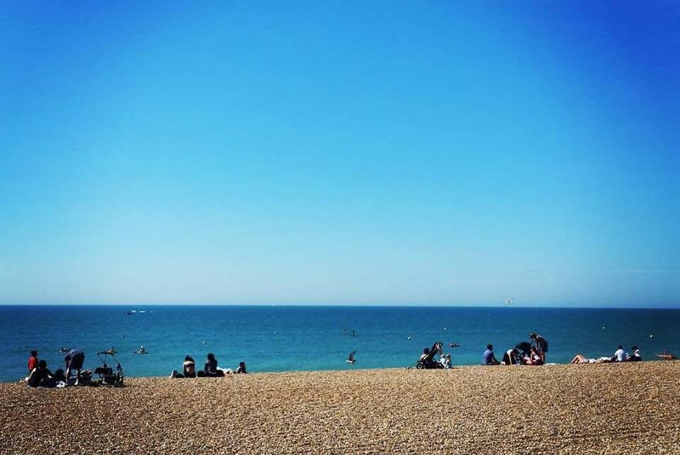Visiting Brighton Beach